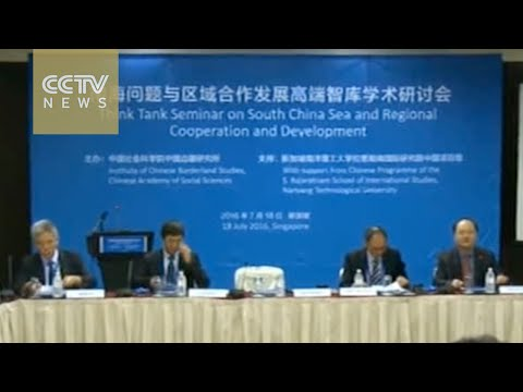 South China Sea: Seminar in Singapore discusses maritime disputes