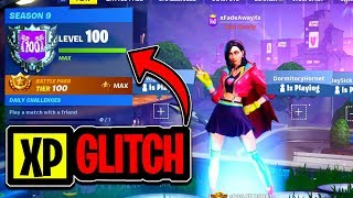 *NEW* FORTNITE XP GLITCH IN SEASON 9! Fortnite Glitches! Fortnite season 9 glitches!
