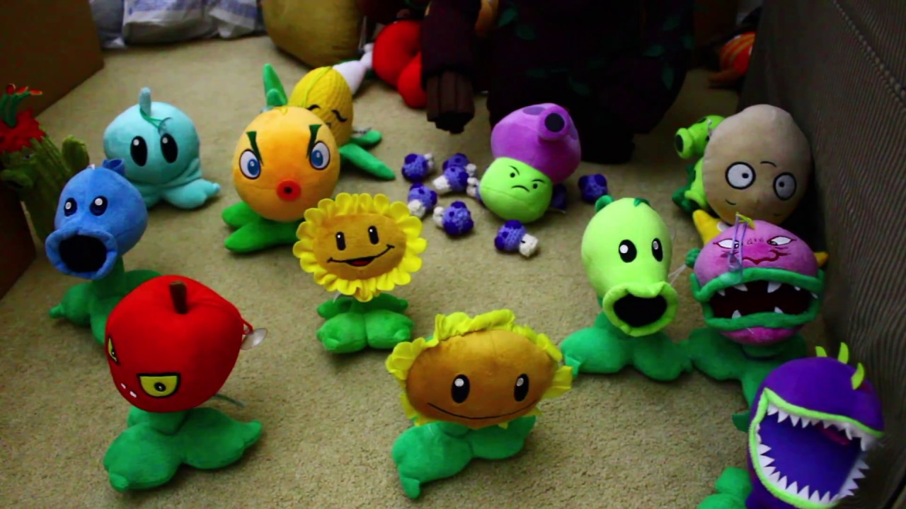 Youtube Stuffed Animals, Plants Vs Zombies Plush Royal End Youtube