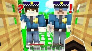 LA POLICE ME CAPTURE SUR MINECRAFT !! 👮🚓