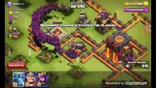 Clash Of Clans-750 Max Lvl Minion Attack! 250+500 Max Minion Attack Ep.2