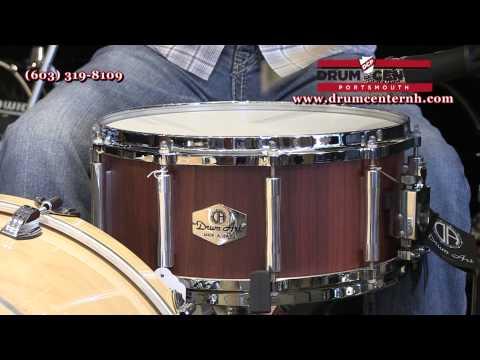Drum Art Padauk Stave Snare Drum 6.5x14
