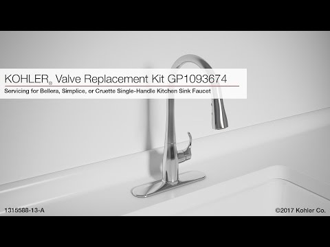 valve-replacement-for-bellera,-simplice,-or-cruette-kitchen-sink-faucets
