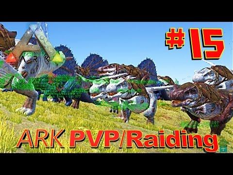 [15] Raid Server War!!! Season 1 Finale! (ARK Survival Evolved PVP Raiding)