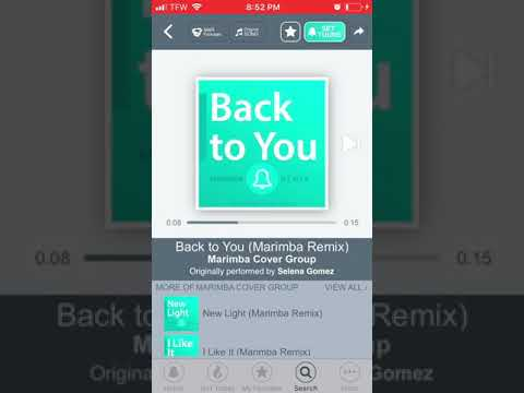 Back to you ringtones