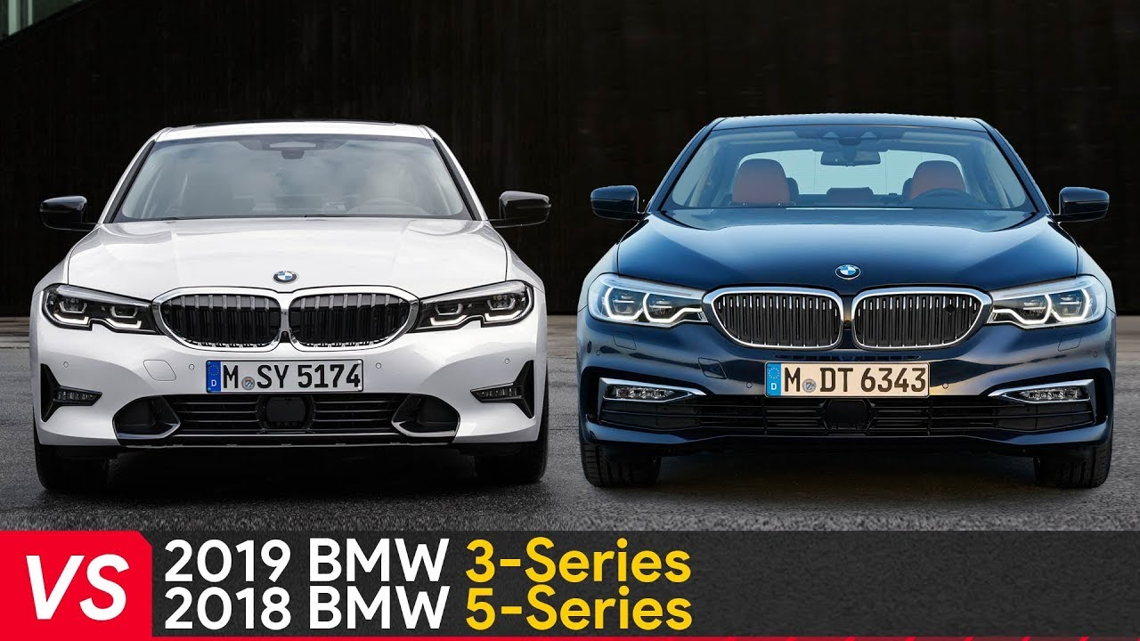 2019 BMW 3 Series (G20) Vs 5 Series (G30) Design ...