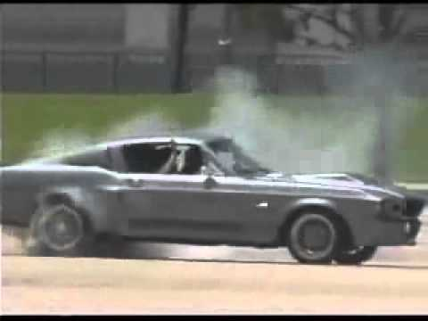 Ford Mustang Shelby 1967 Gt500 Super Snake Burnout Drift
