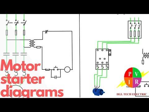 Motor Starter Wiring Diagram from i.ytimg.com