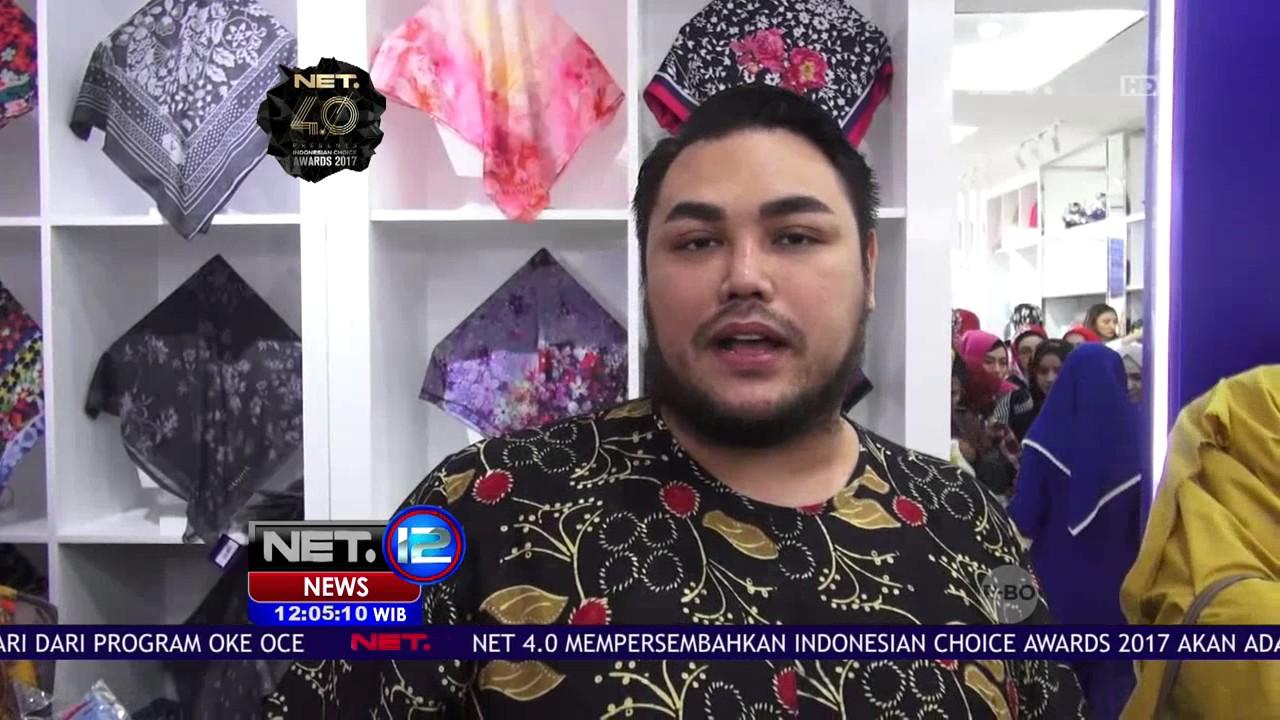 Tampil Modis Dengan Hijab Manjha Rancangan Ivan Gunawan Net12 Youtube