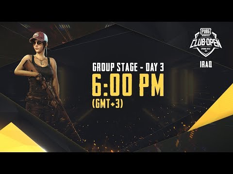 [Arabic] PMCO Iraq Group Stage Day 3 | Spring Split | PUBG M