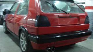 Restauracion Golf Mk2 GTI 16v