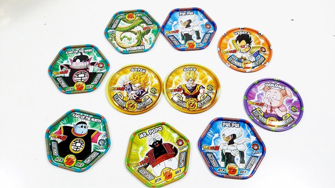 Bóc 10 bánh thẻ toonies 7 viên ngọc rồng thẻ phiên bản giới hạn Dragon ball  Z có rồng thần