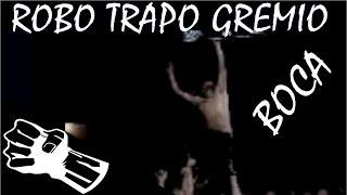 robo bandera boca gremio - 流氓的戰鬥旗幟 -  博卡青年 - barrabravas -  stolen flag