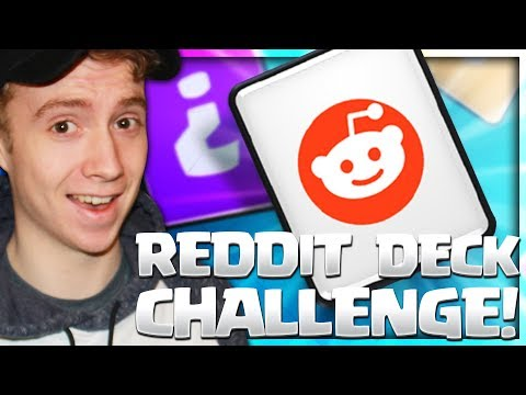 REDDIT DECK CHALLENGE! (9 WINS Both Times EZ) | Clash Royale 🍞