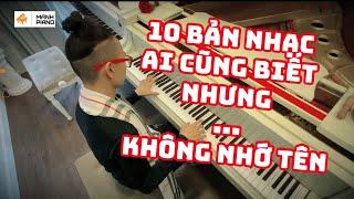 🎵 10 BẢN NHẠC AI CŨNG BIẾT NHƯNG KHÔNG NHỚ TÊN #3 - Richard Clayderman Album | Manh Piano