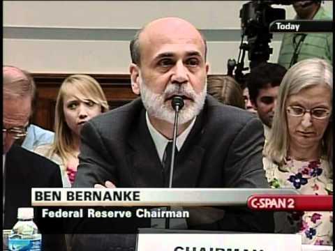 Ben Bernanke on Bank of America and Merrill Lynch