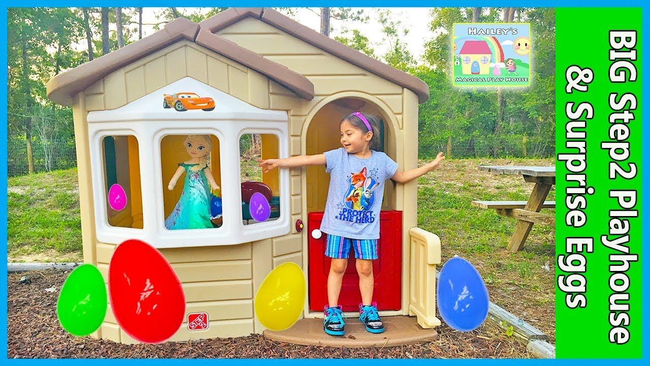 mega giant surprise box step2 playhouse egg hunt for huge