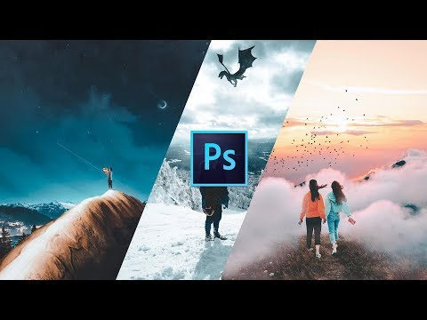 How to CREATE a COMPOSITE PHOTO in Photoshop (@kellansworld) | Adobe Photoshop CC 2018 Tutorial