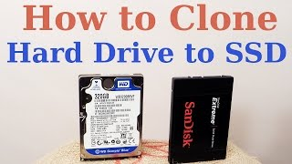 How to Clone HDD to SSD