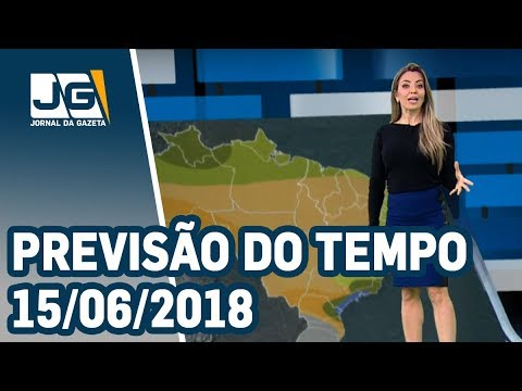 Previsão do Tempo - 15/06/2018