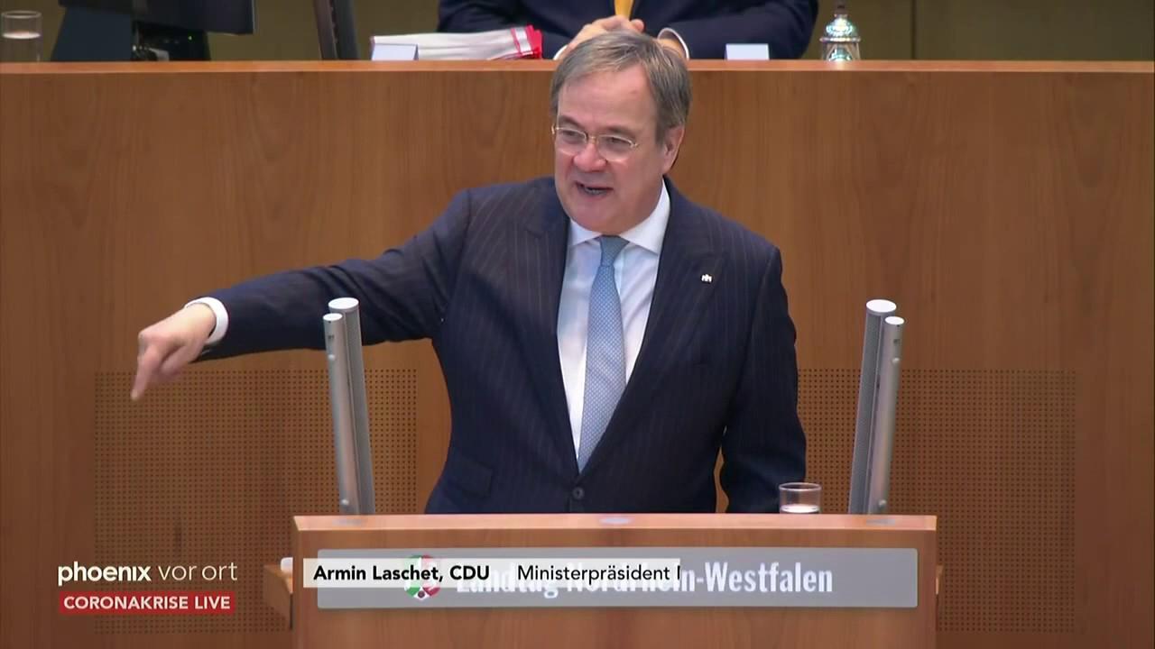 Sitzung Landtag Nrw Mit Ministerprasident Armin Laschet U A Youtube