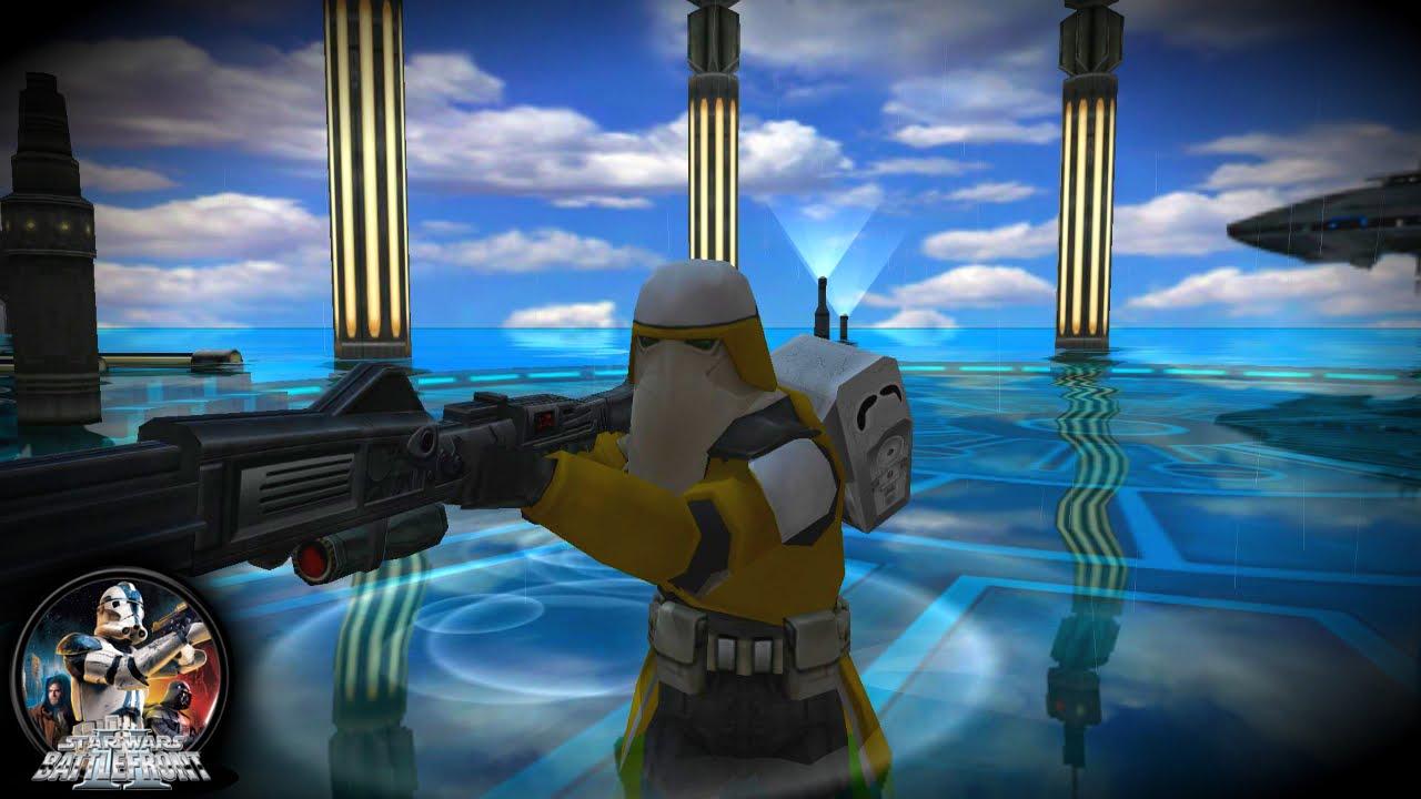 Star Wars Battlefront 2 Mod [PC]: Tsunami Mod & In Game Skin Changer Mod | Kamino