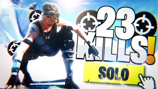 They fear this SKIN-23 KILLS SOLO-Fortnite Battle Royale