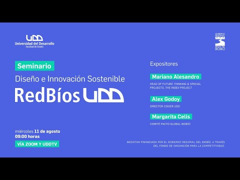 Seminario Diseño e Innovación Sostenible RedBíos UDD