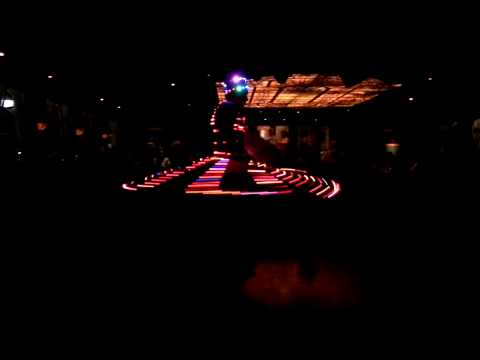 Whirling Dervish with lights! Nile Maxim - Cairo