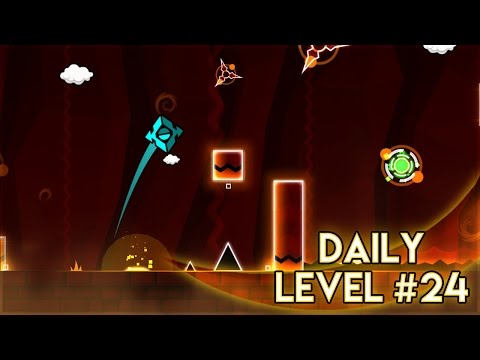 "DAILY LEVEL #24 | Geometry Dash World - ""Flock"" by Usermatt | GuitarHeroStyles"