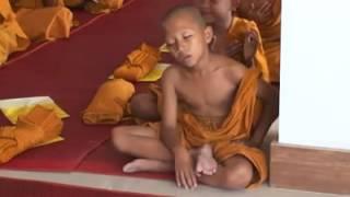 The Funny Sleepy Monk
