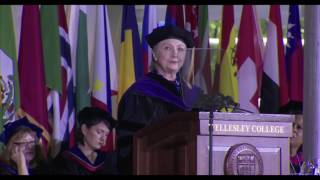 Clinton draws comparison between Nixon and Trump in commencement address