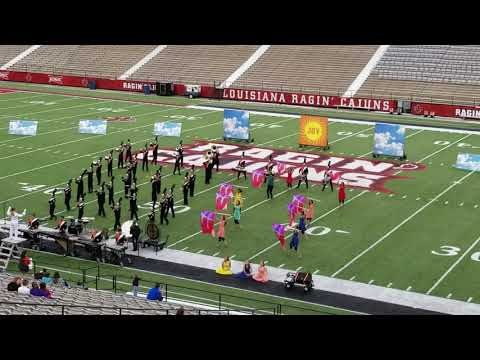 Delcambre High School Marching Band - Oct. 22, 2018