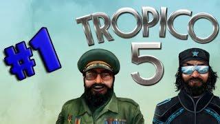 Tropico 5 - COMO COMEÇAR UMA DITADURA SOCIALISTA!!! #1 (Gameplay / PC / PTBR) HD