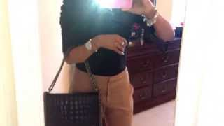 """OOTD"" Carrying my  Zara Croc City Bag Thumbnail"