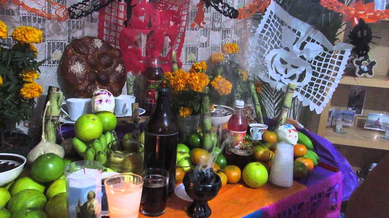 【YouTube】01/11/2015 Ofrenda Dia de Muertos Estado de México Otomí