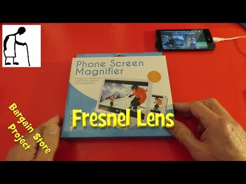 Bargain Store Projects - Fresnel Lens