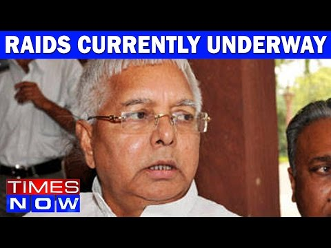 Raids Currently Underway At Lalu Prasad Yadav's Delhi Residence