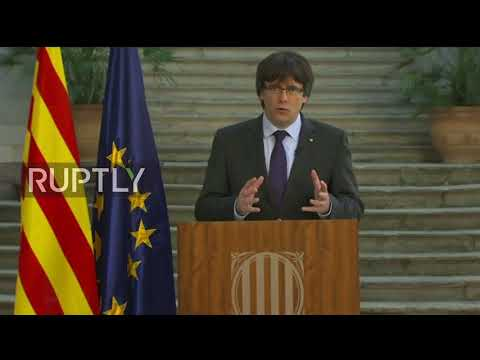 Spain: Puigdemont urges 'democratic opposition' to Madrid takeover