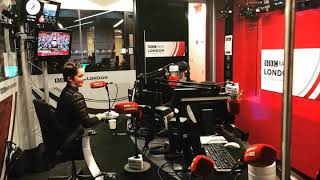BBC Radio London- Liv Conlon Drive Time with Eddie Nestor