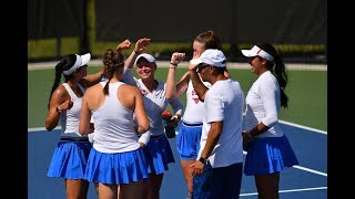 2019 Women's Tennis Championship - SMU Quarterfinal Post Game