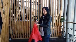 видео Зонт-трость Alessio, черный
