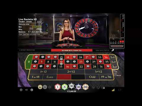 Crazy Bet, €1 Million Vs Live Roulette Pro, With Cute Dealer