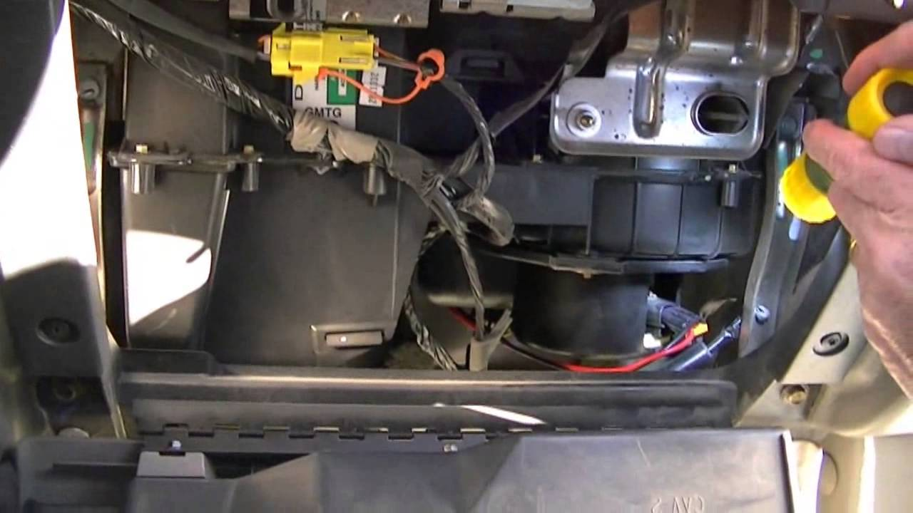How To Install Replace Heater Ac Fan Speed Control Resistor Chevy Wiring Harness Trailblazer 02 09