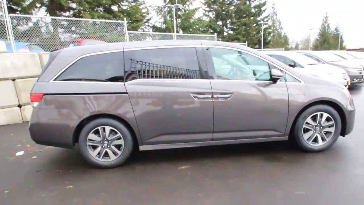 Attractive 2014 Honda Odyssey Touring | Smoky Topaz | EB059636 | Seattle | Renton    YouTube