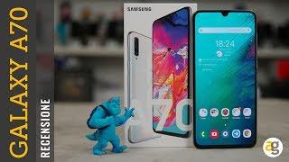 Recensione GALAXY A70 Samsung