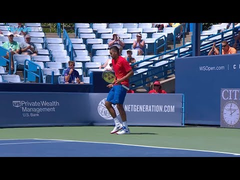 W&S Open: Nick Kyrgios 3R Hot Shot