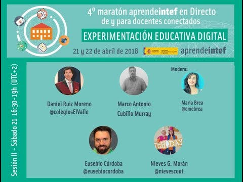 4º Maratón #AprendeINTEF en directo - II Sesión