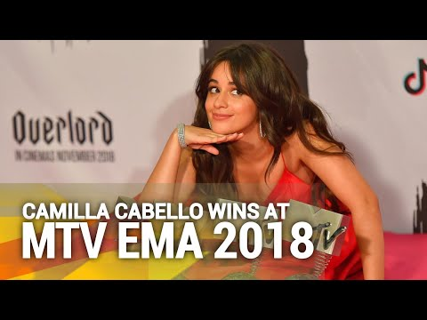 Camila Cabello Wins at MTV Europe Music Awards 2018 Mp3