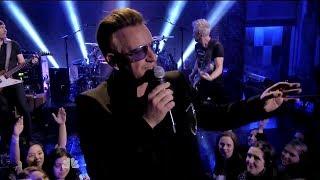 U2 Beautiful Day on Tonight Show Starring Jimmy Fallon
